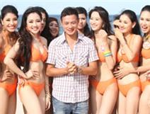MC Anh Tuấn được dàn mỹ nhân vây quanh