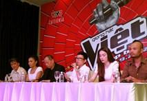 Clip buổi họp báo gây tranh cãi của The Voice