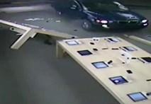 Video: Đi xe BMW đâm vào cửa hàng để trộm iPad