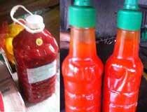 Tương ớt giá rẻ được chế biến từ... chất độc