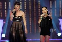 Vòng đối đầu - Thanh Hằng và Hoài Trinh hát 'No one'