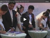 Video 12 đôi kết hôn ngày 12/12/12