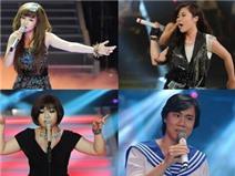 Ưu thế thuộc về phái nữ ở chung kết The Voice