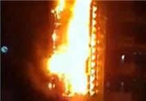 Quán karaoke 6 tầng ở Hà Nội bốc cháy dữ dội