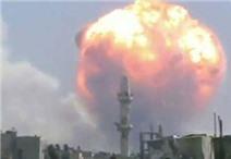 Video:  Nổ liên tiếp tại kho vũ khí ở Syria, 40 người chết