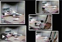 Video: Bảo mẫu tát, đạp bé 3 tuổi xuống đất vì không biết có camera