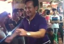 """Lộ clip Hiệp gà làm DJ, Quang Tèo """"quẩy mông"""" tưng bừng"""