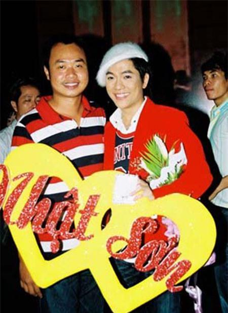Nhật Sơn và nhạc sĩ Lý Huỳnh Long