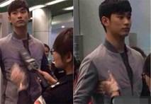 Fan 'lồng lộn' ghẹn tị vì nhân viên an ninh nữ sờ ngực Kim Soo Hyun