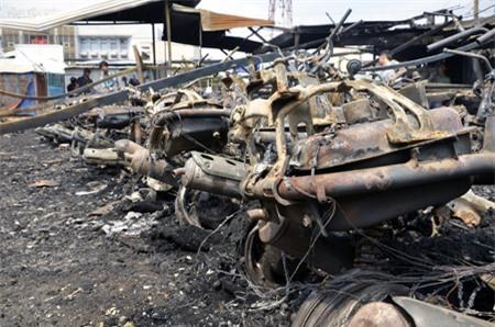 Đa số các xe cháy đều là xe tay ga