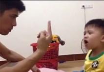 Clip bố dạy toán cho con trai khiến dân mạng cười nghiêng ngả