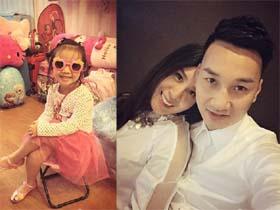 Bạn gái Thành Trung yêu chiều con gái riêng của người yêu px