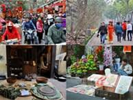 Hình ảnh nhìn là biết Tết đã cận kề khắp phố phường Hà Nội