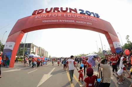 7.000 người chạy cùng Edurun xây lớp học cho trẻ em nghèo