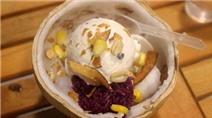 3 địa chỉ hấp dẫn cho món kem xôi dừa Sài Gòn