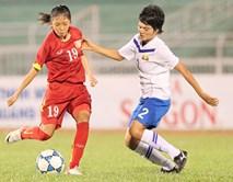 ĐT nữ Việt Nam thắng Myanmar sau màn rượt đuổi tỷ số