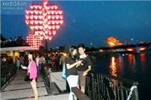 """Ngắm """"cầu tình yêu"""" lãng mạn như trong phim Hàn ở Đà Nẵng"""