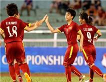 Giành chiến thắng trước Philippines, Tuyển nữ Việt Nam gặp Thái Lan ở bán kết