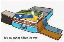 Xếp hành lý du lịch chuẩn