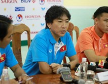 HLV Miura loại 9 cầu thủ trước thềm SEA Games 28