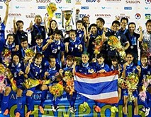Thái Lan giành chức vô địch giải bóng đá nữ Đông Nam Á 2015