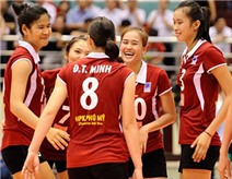 Bóng chuyền nữ Việt Nam thắng trận lịch sử trước Nhật Bản