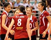 Tuyển bóng chuyền nữ Việt Nam thua đối thủ cao gần 2 m