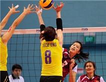Bóng chuyền nữ VN thắng thuyết phục ngày ra quân SEA Games