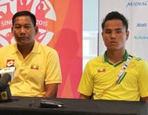 Đội trưởng Myanmar sợ sự cuồng nhiệt của CĐV Việt Nam