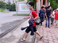 Chuyên gia giáo dục nói gì về học sinh mặc quần soóc đi thi?