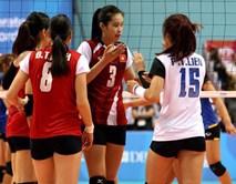 Bóng chuyền nữ Việt Nam thua Thái Lan lần thứ 8 liên tiếp ở chung kết