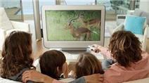 7 chiêu để TV không trở thành hiểm họa với con