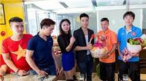 Đến Đài Loan, ĐT Việt Nam tất bật đi… mua sắm