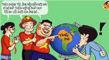 Hí họa: CĐV khuyên ông Miura sang châu Phi làm HLV