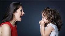 Vì sao dạy con bằng cách la hét chẳng có ích gì?