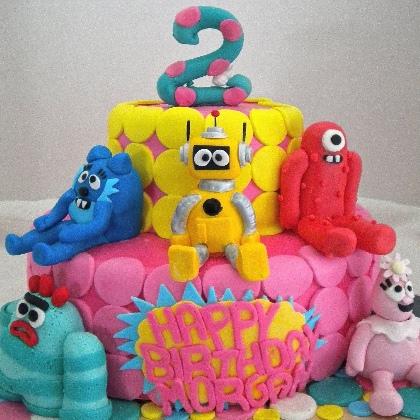 YuMe.vn  Những chiếc bánh sinh nhật khiến bé