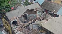 Sập biệt thự cổ ở Hà Nội, 2 người chết