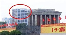 Tòa nhà cao vượt Lăng Bác, xử lý ra sao?