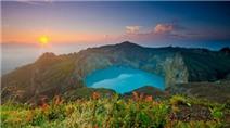 Hồ Kelimutu - điểm du lịch khiến khách Tây mê mẩn