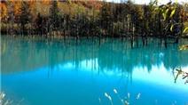 Lạ lùng màu nước xanh ở hồ AOI