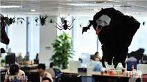 Dân công sở thích thú khi văn phòng