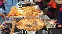 6 món ăn đường phố nóng hôi hổi của xứ kim chi