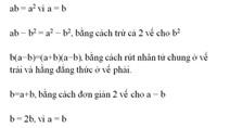 Tìm sự vô lý trong bài toán 1 = 2