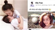 Thêm loạt bằng chứng Elly Trần bí mật sinh con lần 2