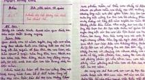 """Chấm bài văn của học sinh: Cần lắm một chữ """"Tâm"""""""