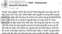 Tin mới nhất vụ du học sinh Việt bị lừa mua vé máy bay