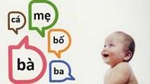 Những từ bé phải nói được theo từng độ tuổi