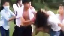 Nữ sinh Huế hẹn bạn nam ra sân bóng đánh nhau