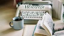 Horoscope ngày thứ Tư (24/2): Bảo Bình chớ để bị phân tâm
