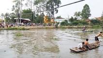 Ghe đi đám cưới bị đâm trên sông, bé 4 tuổi chết đuối thương tâm